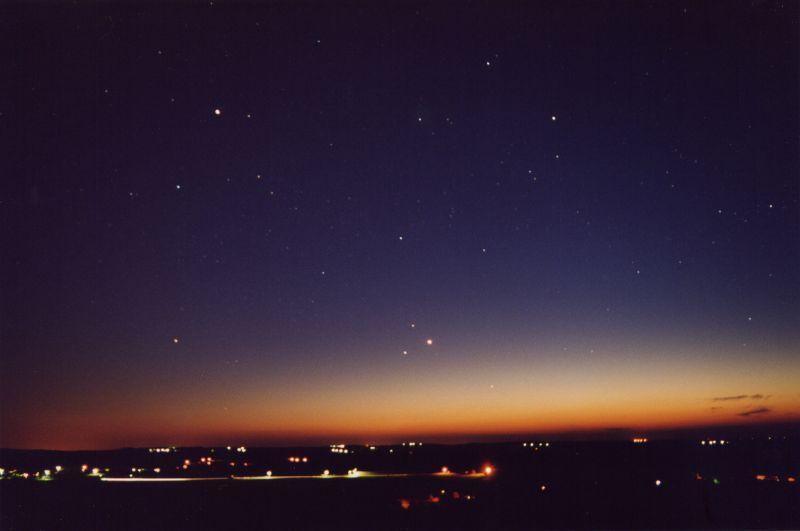 Conjonction planétaire – © Christian Lerme