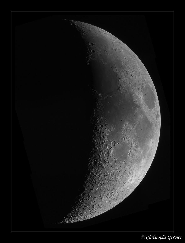 Croissant lunaire – © Christophe Gervier