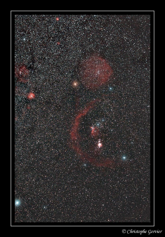 Constellation d'Orion – © Christophe Gervier
