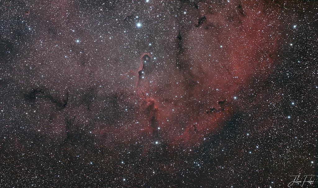 Nébuleuse de la Trompe IC1396 – © Julien Fabre