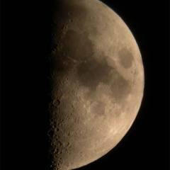 Premier quartier de Lune – © A. Laurent – C. Gervier