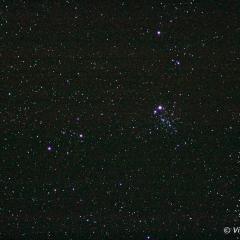 Amas d'étoile E.T. (NGC 457) – © Philippe Vigneron