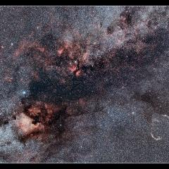 Nébuleuses du Cygne – © Julien Fabre