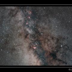 Nébuleuses du Sagittaire – © Christophe Gervier