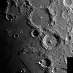 Cratères Ptolémée, Alphonse et Arzachel – © Olivier Gauthier